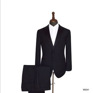 Men's Black 2 Piece Tuxedo
